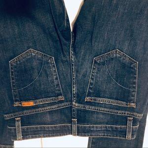 Joes jeans dark wash straight leg size 26